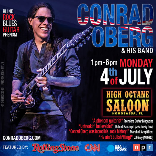 Conrad Oberg & Band @ High Octane July 4th
